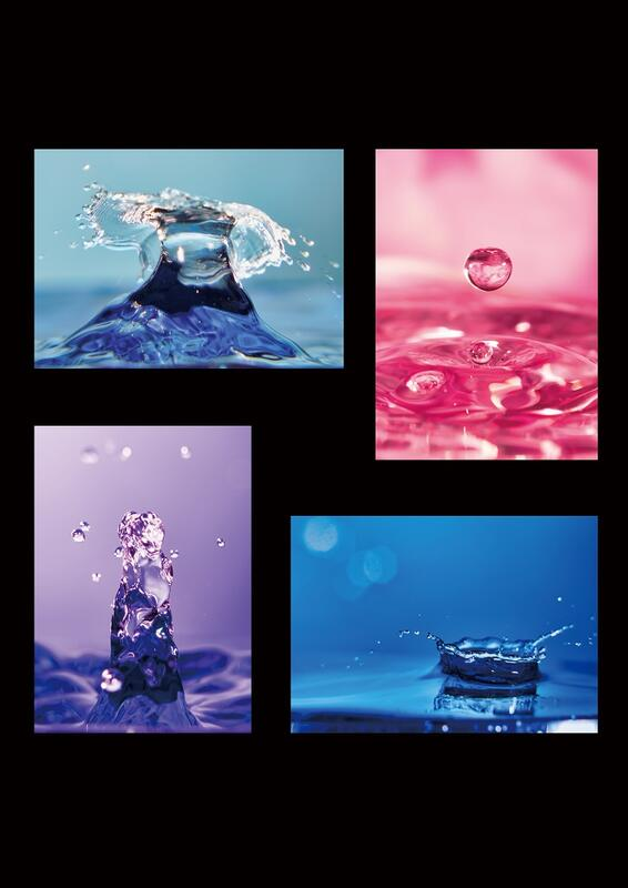 優秀賞受賞:水のパレット